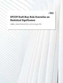 OFCCP Draft Bias Rule