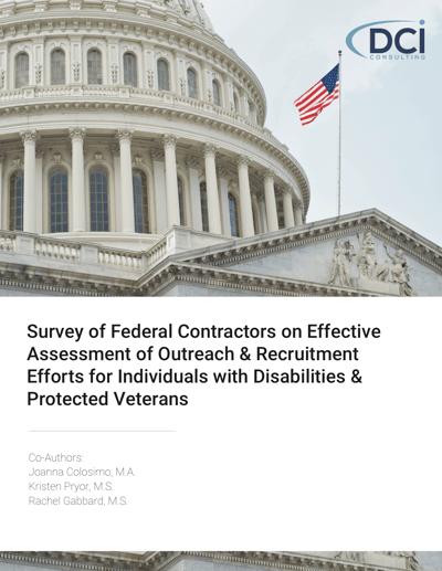 survey of federal contractors